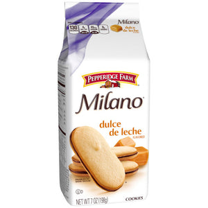 Pepperidge Farm Milano Dulce De Leche Cookies 198g