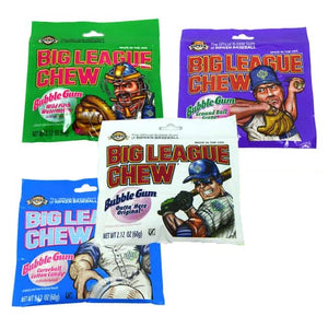 Big League Chew Bubble Gum  60g