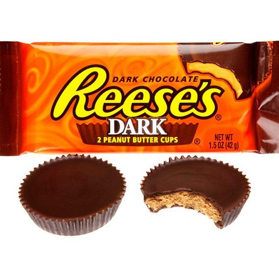 Reese's Peanut Butter Cup Dark Chocolate 42g