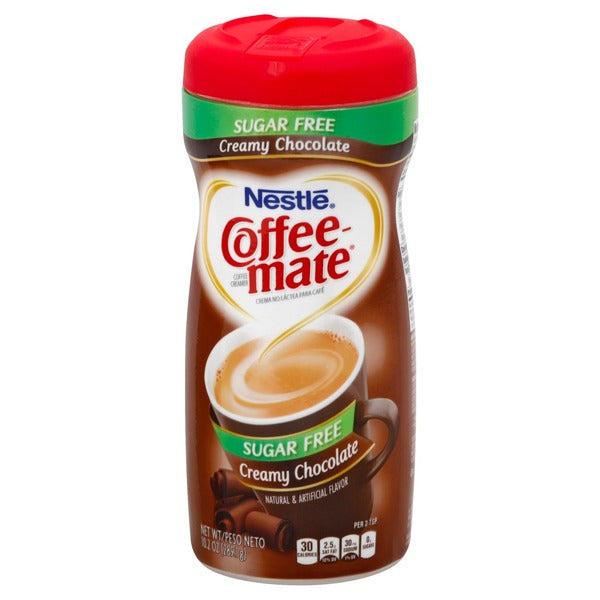 NESTLE COFFEE MATE CHOCOLATE CREME 0g SUGAR 298.1G