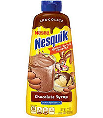 Nestle Nesquik Chocolate SYRUP 623.6g