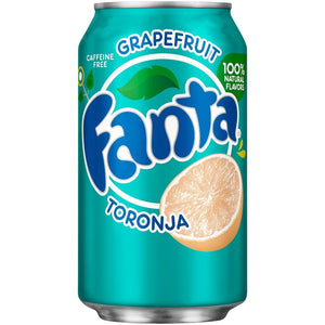 "Fanta Toronja "" Greapefruit "" 355ml"