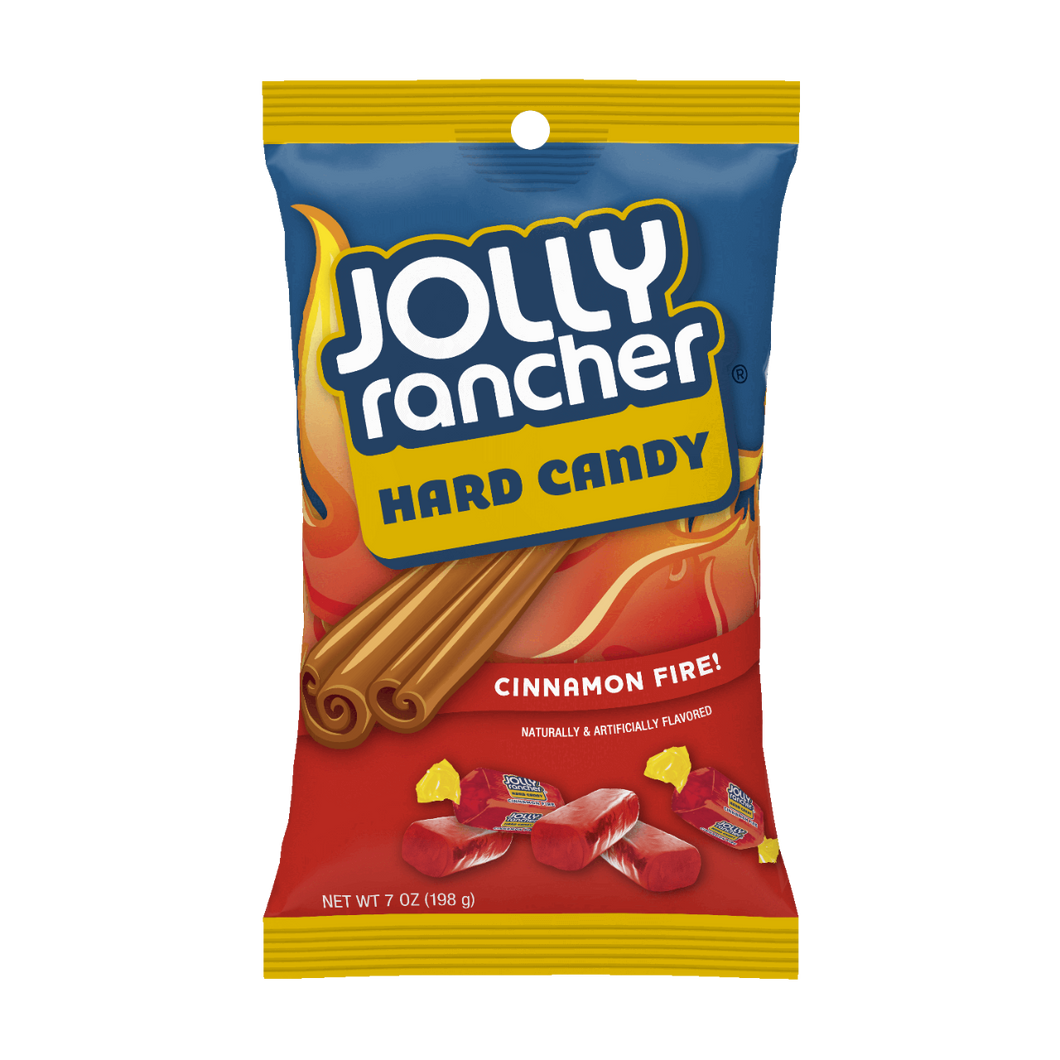 Jolly rancher Hard Candy CINNAMON FIRE 198g