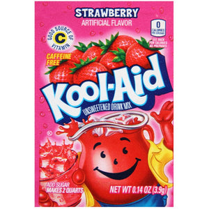 KOOL AID STRAWBERRY 3.9G