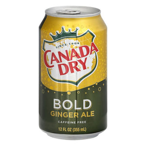 CANADA DRY BOLD GINGER AIL 355ML