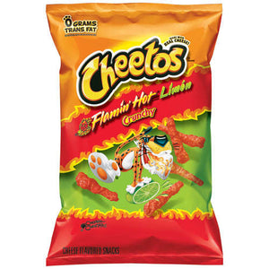 Cheetos Flamin Hot Limon Crunchy 240g
