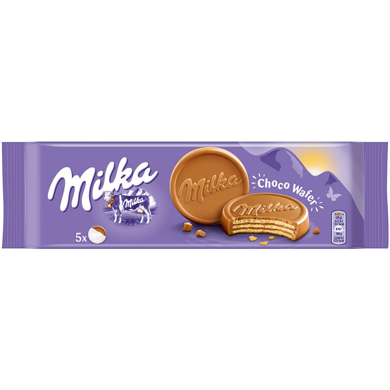Milka Choco Wafer Milk Chocolate  6x 180g