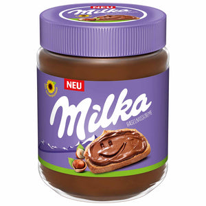 Milka Hazelnut Cream Chocolate Spread (350g)
