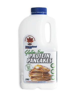 International Protein GLUTEN FREE High Protein Pancake Mix 130G