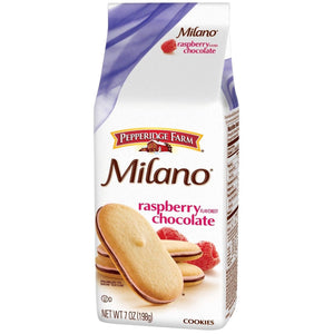 Pepperidge Farm Milano Raspberry Chocolate Cookies 198g