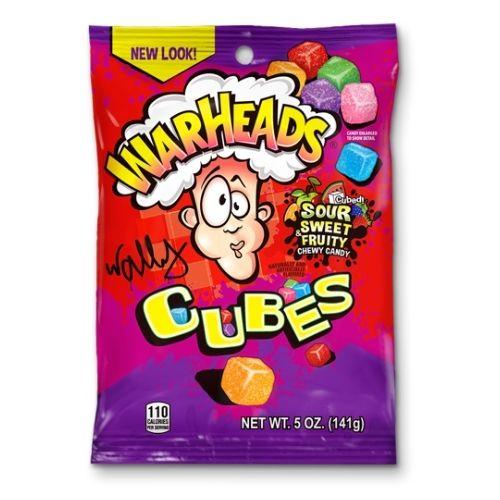 WARHEADS CUBES SOUR SWEET & FRUITY 150