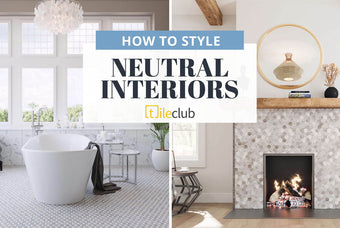 How to Style Neutral Home Décor filled with Personality