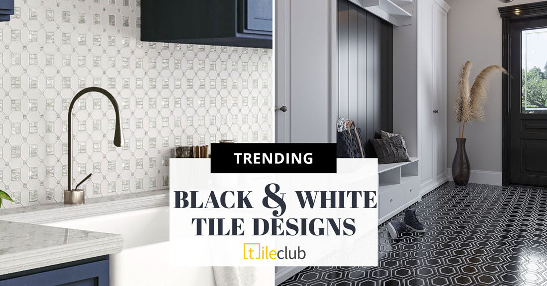 Black And White Tile Designs That Are Always In Style