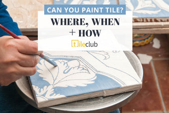 Can you Paint Tile - Cute DIY Upgrade or High-Maintenance Project?