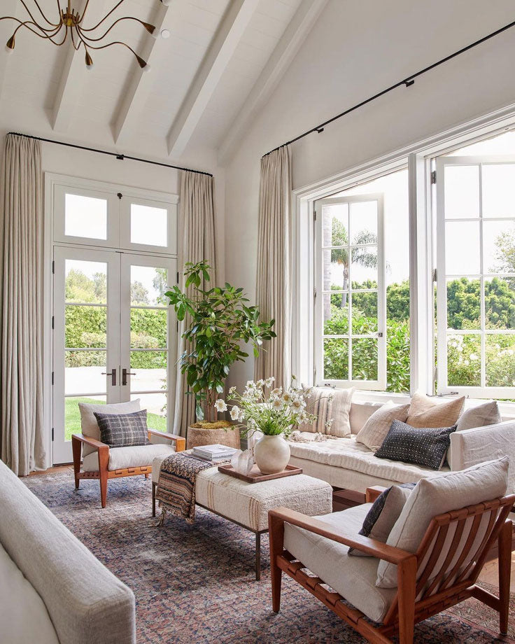 The Top 5 Interior Design Styles for 2021 - California Casual Living Room by Amber Interiors