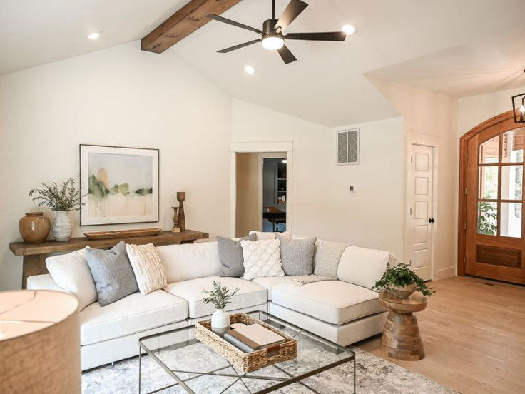 After Living Room Renovation: Fixer to Fabulous on HGTV