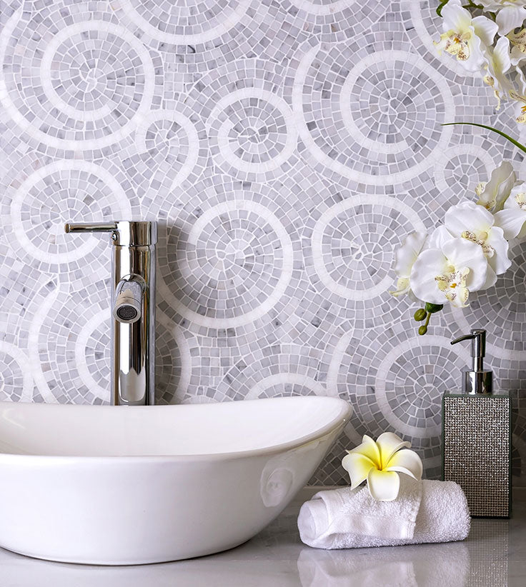 Micro Mosaic Tile Designs add Impact to your Interior