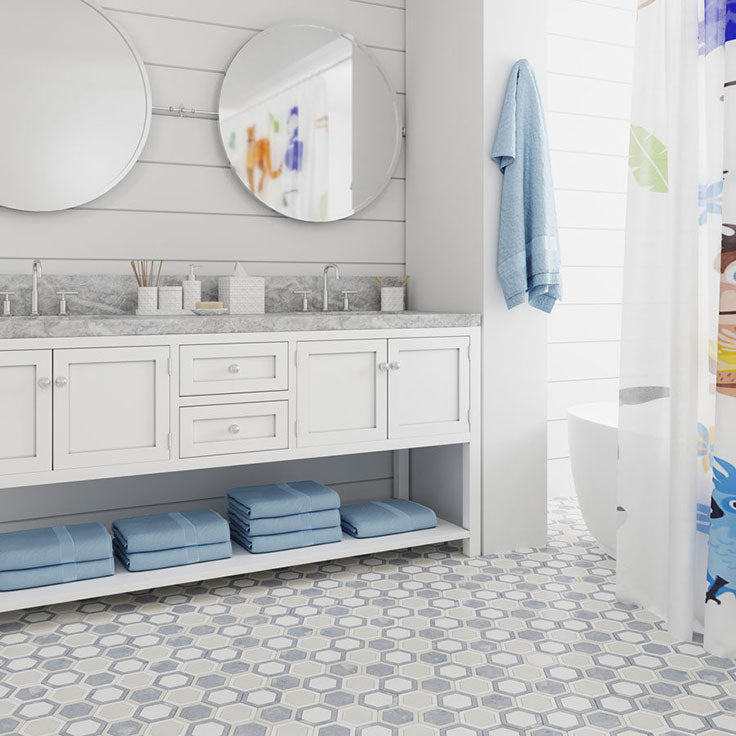 When to Seal Bathroom Floor Tiles - Especially for Kid's Bathrooms