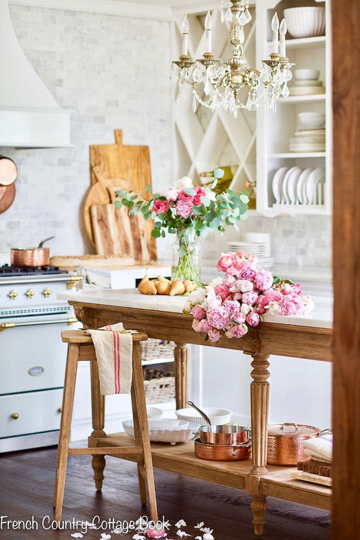The Top 5 Interior Design Styles for 2021 - French Country Cottage Kitchen