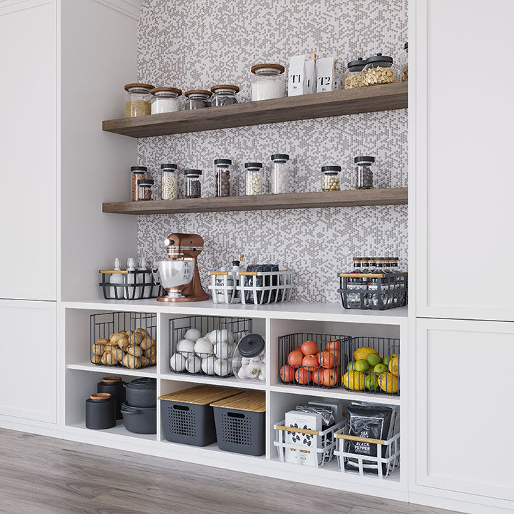 Kitchen Storage and Organization can be Stylish, Like this Rustic Farmhouse Pantry