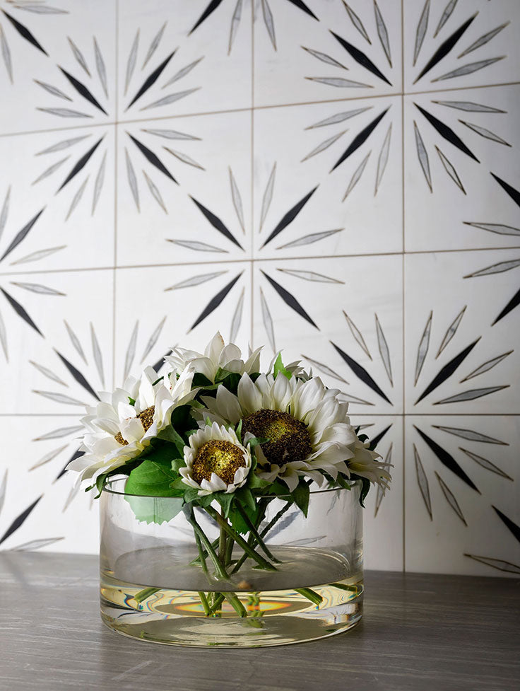 Trending - Encaustic Cement Tiles and the Marble Alternative