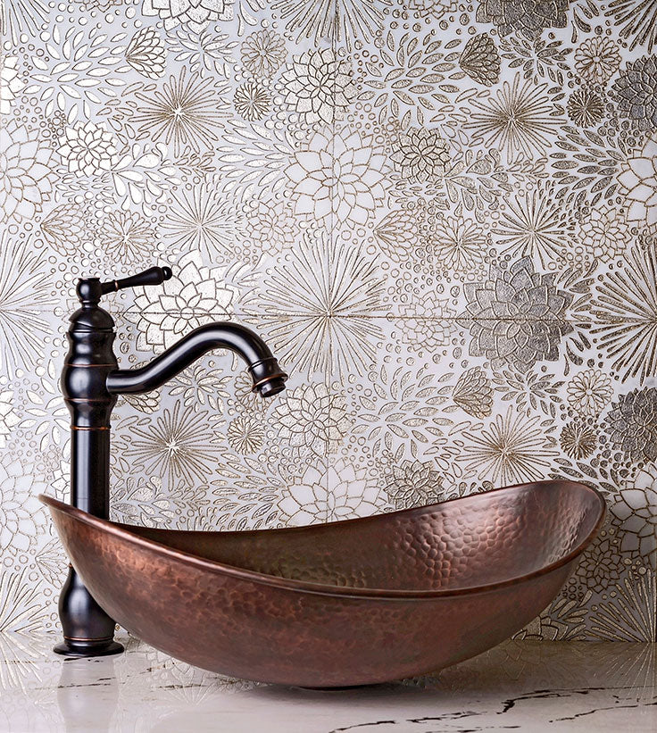 Bathroom Design Trends for 2021 - Gold is a Go!