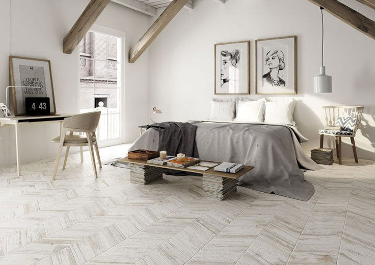 Imagine stepping onto warm tiled floors with a heated bedroom floor