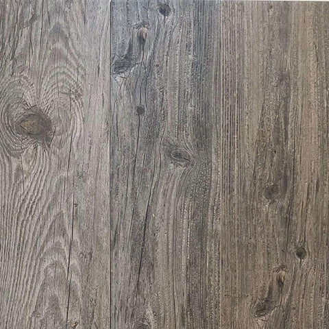 Gray Reclaimed Wood Look Tiles for Floor or Stair Treads