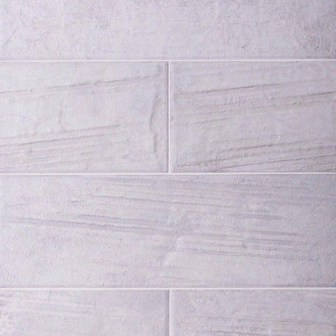 Porcelain White Brick Tile Facing for Fireplace and Loft Walls