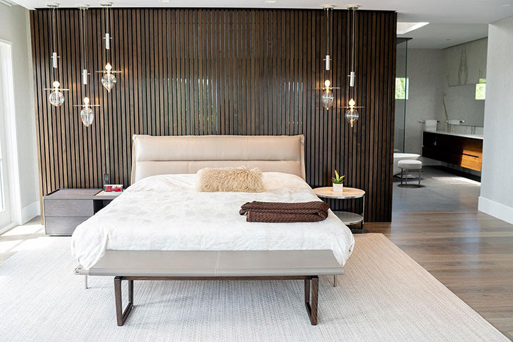 Minimalist South Asian Bedroom Inspiration by Dupuis Design Group