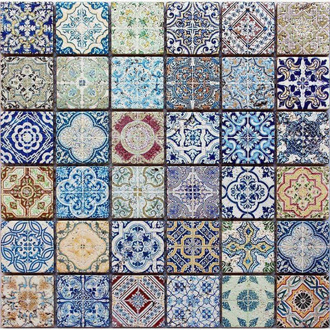 Colorful Spanish Mosaic Tile