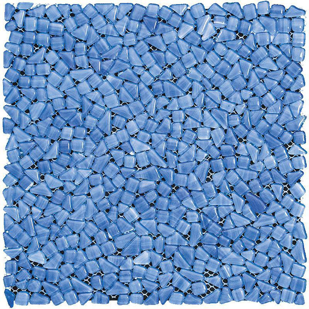 Diamond Sky Glass Pebble Mosaic Tile