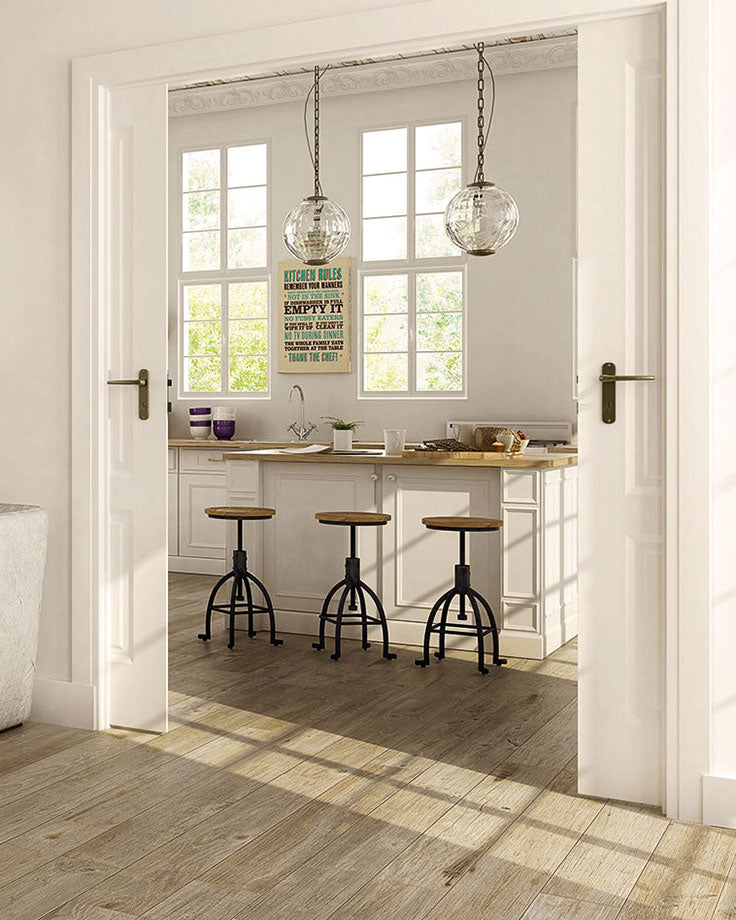 Hardwood Floor Alternatives with Porcelain Wood Look Tiles for a High ROI When you Sell your Home