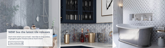 New Glass Mosaic Tiles