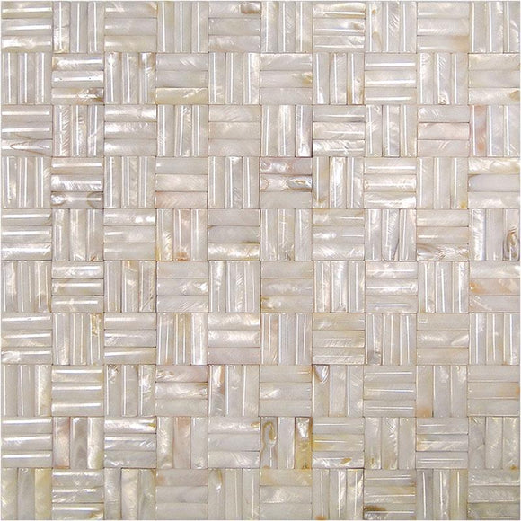 3D Sticks Mother Of Pearl Mosaic Tile | Tile Club | Position1