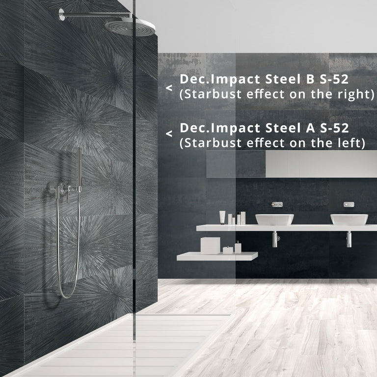 steel wall tile