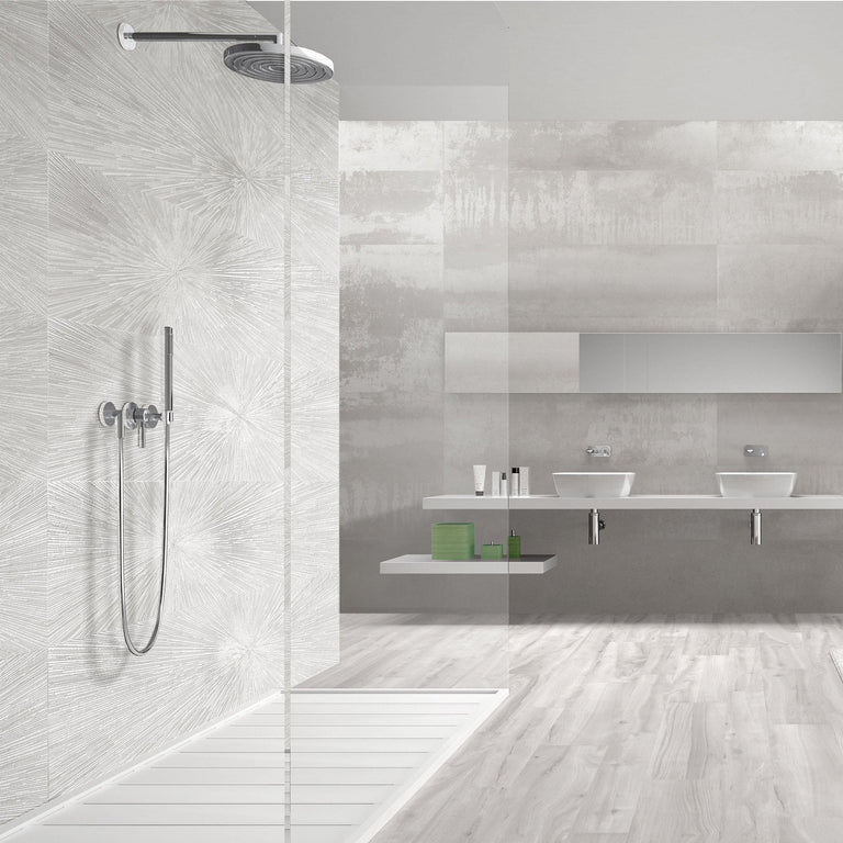 White  Large Porcelain Tile for Walls