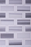 Equator & Thassos Bricks Polished Mosaic Tile