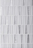 ICE WHITE TRIANGLE GLASS MOSAIC TILE