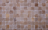 travertine mosaic floor tile