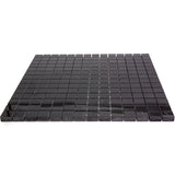 Nero Marquina 1X1 Polished Marble Mosaic Tiles