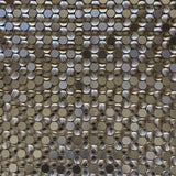 Stainless Steel Penny Pebble Metal Mosaic Tile