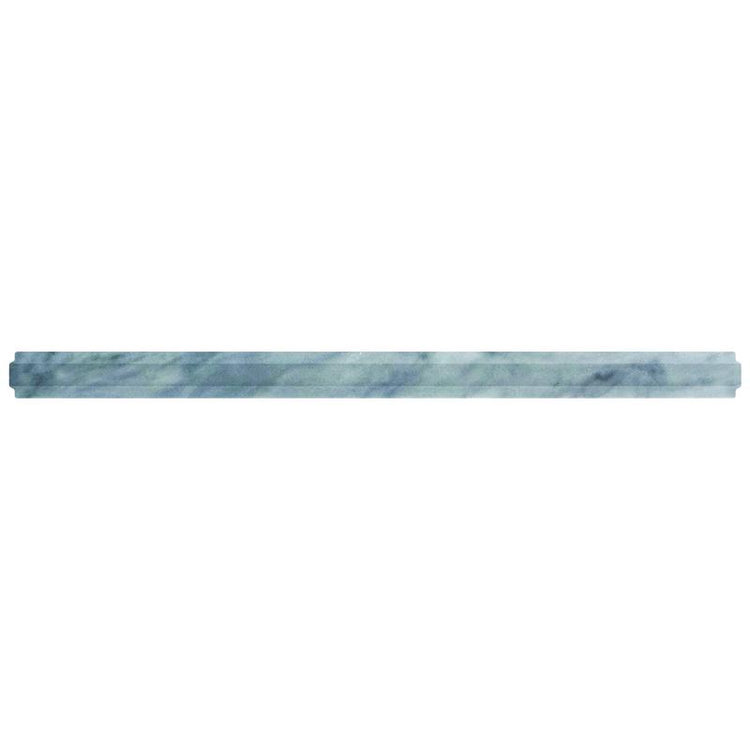 Bardiglio Marble Nova Pencil Liner Polished | Tile Club | Position1
