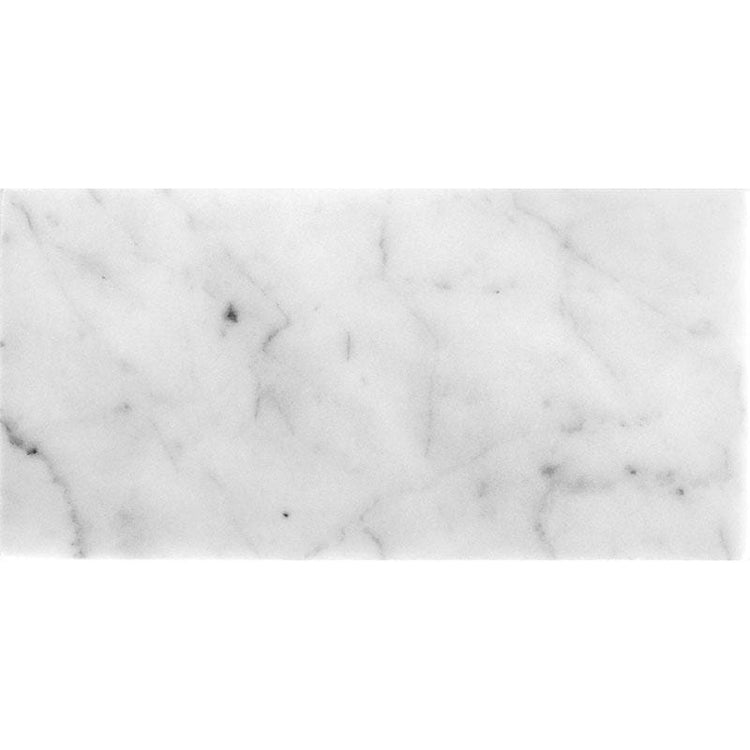 Bianco Carrara 12X24 Honed Marble Tile | Tile Club | Position1