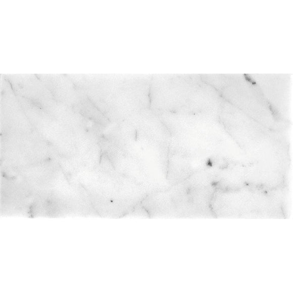 Bianco Carrara 12X24 Polished Marble Tile | Tile Club | Position1