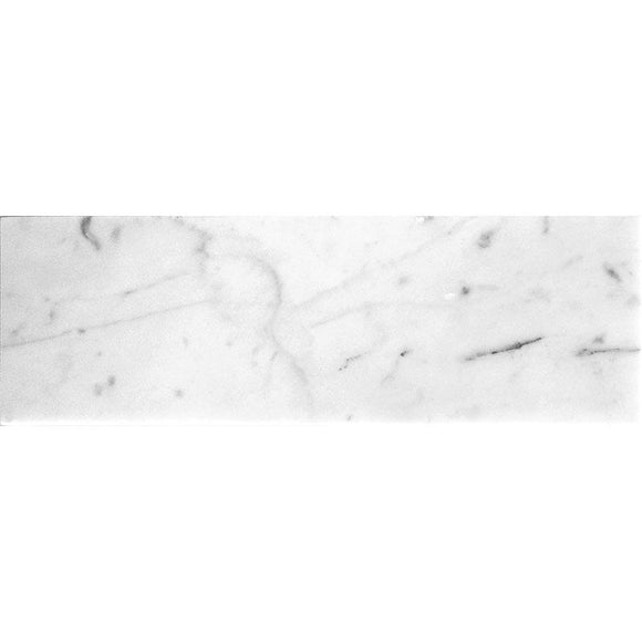 Bianco Carrara 4X12 Polished Marble Tile | Tile Club | Position1