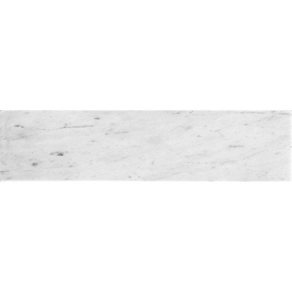 Bianco Carrara 4X16 Honed Marble Tile | Tile Club | Position1