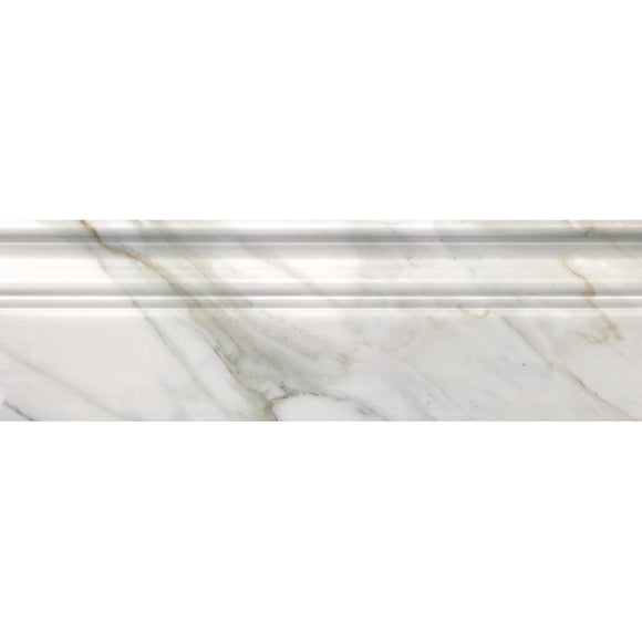 Calacatta Gold Marble Baseboard Polished