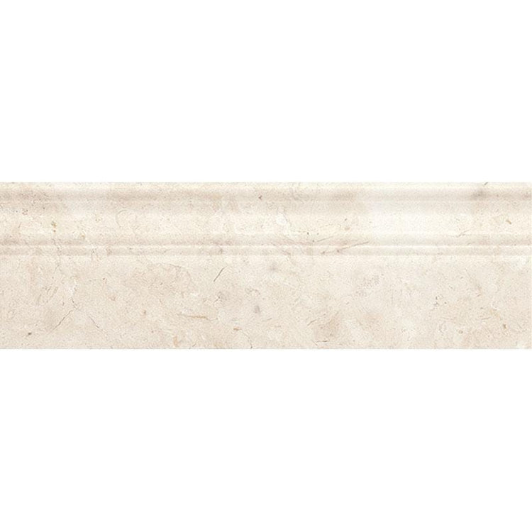 Crema Marfil Marble Baseboard Polished | Tile Club | Position1