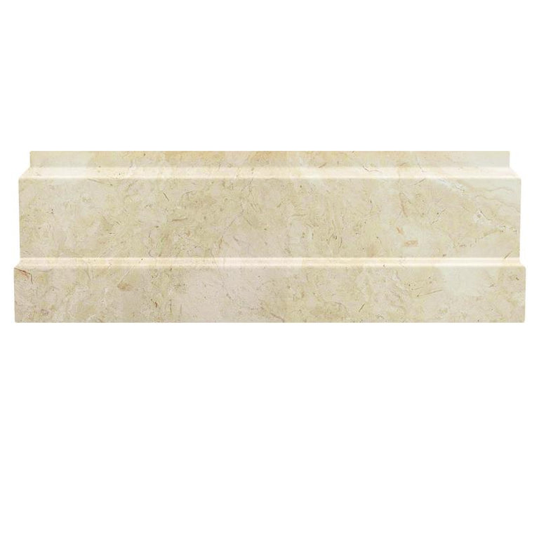 Crema Marfil Marble Nova Baseboard Polished | Tile Club | Position1